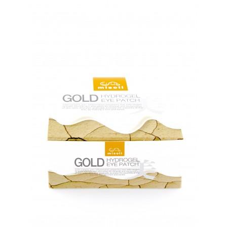 Гидрогелевые патчи под глаза с золотом (60 шт / 30 пар)